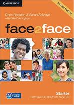 Аудіодиск Face2face 2nd Edition Starter Testmaker CD-ROM and Audio CD