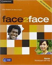 Face2face 2nd Edition Starter Workbook with Key - фото обкладинки книги