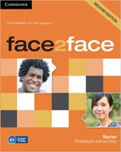 Face2face 2nd Edition Starter Workbook without Key - фото обкладинки книги