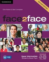 Face2face 2nd Edition Upper Intermediate Student's Book with DVD-ROM - фото обкладинки книги