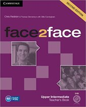 Face2face 2nd Edition Upper Intermediate Teacher's Book with DVD - фото обкладинки книги