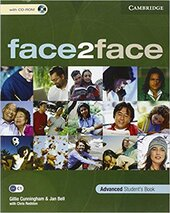 Face2face Advanced SB+CD-ROM - фото обкладинки книги