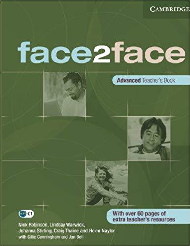 Книга для вчителя Face2face Advanced TB