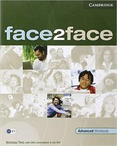 Face2face Advanced Workbook with Key - фото обкладинки книги