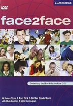 Face2face Elem/Pre-Intermediate DVD activity book