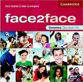 Face2face Elementary Class Audio CDs (3) - фото обкладинки книги