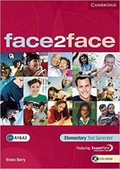 Підручник Face2face Elementary Test Generator CD-ROM