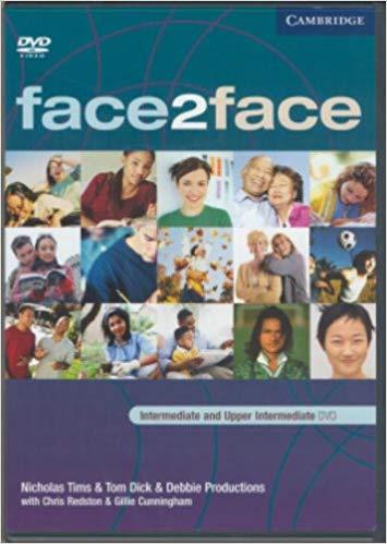 Посібник Face2face Inter/Upper Intermediate  DVD activity book