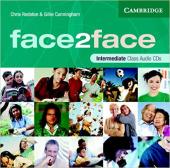 Face2face Intermediate Class Audio CDs (3) - фото обкладинки книги