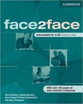 Аудіодиск Face2face Intermediate TB
