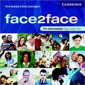Face2face Pre-Intermediate Class Audio CDs (3) - фото обкладинки книги