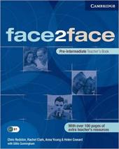 Face2face Pre-Intermediate TB - фото обкладинки книги