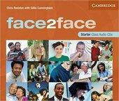 Face2face Starter Class Audio CDs (3) - фото обкладинки книги