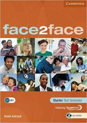 Аудіодиск Face2face Starter Test Generator CD-ROM