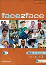 Книга для вчителя Face2face Starter Test Generator CD-ROM