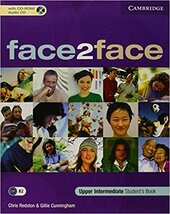face2face Upper Intermediate Student's Book with CD-ROM/Audio CD - фото обкладинки книги