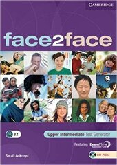 Face2face Upper  Intermediate Test Generator CD-ROM - фото обкладинки книги