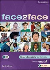 Face2face Upper  Intermediate Test Generator CD-ROM - фото обкладинки книги