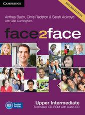 Face2face Upper Intermediate Testmaker CD-ROM and Audio CD - фото обкладинки книги