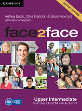 Робочий зошит Face2face Upper Intermediate Testmaker CD-ROM and Audio CD