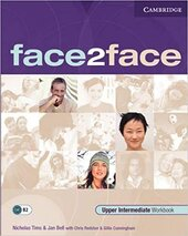 Face2face Upper  Intermediate  Workbook with Key - фото обкладинки книги