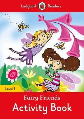 Fairy Friends Activity book - Ladybird Readers Level 1 - фото книги
