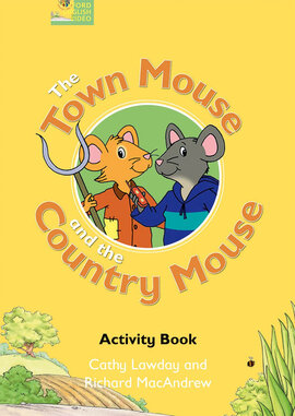 Fairy Tales: The Town Mouse and the Country Mouse Activity Book - фото книги