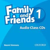 Family and Friends 1. Class Audio CDs - фото обкладинки книги