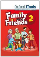 Family and Friends 2. iTools CD-ROM (програмне забезпечення) - фото обкладинки книги