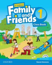 Family and Friends 2nd Edition 1: Class Book with MultiROM (підручник) - фото обкладинки книги
