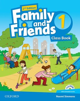 Family and Friends 2nd Edition 1: Class Book with MultiROM (підручник) - фото книги
