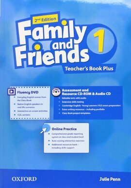 Family and Friends 2nd Edition 1: Teacher's Book Pack (книга вчителя) - фото книги