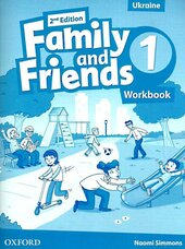 Family and Friends 2nd Edition 1: Workbook (Ukrainian Edition) - фото обкладинки книги