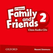 Family and Friends 2nd Edition 2: Class Audio CDs (3) (2) (аудіодиск) - фото обкладинки книги
