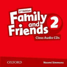 Family and Friends 2nd Edition 2: Class Audio CDs (3) (2) (аудіодиск) - фото книги