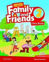 Family and Friends 2nd Edition 2: Class Book with MultiROM (підручник) - фото обкладинки книги