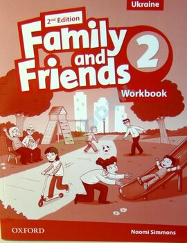 Family and Friends 2nd Edition 2: Workbook (Ukrainian Edition) (робочий зошит) - фото книги
