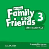 Family and Friends 2nd Edition 3: Class Audio CDs (3) (аудіодиск) - фото обкладинки книги