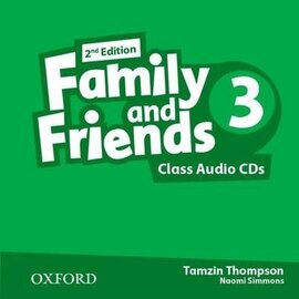 Family and Friends 2nd Edition 3: Class Audio CDs (3) (аудіодиск) - фото книги