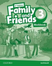 Family and Friends 2nd Edition 3: Workbook - фото обкладинки книги