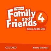 Family and Friends 2nd Edition 4: Class Audio CDs (3) (аудіодиск) - фото обкладинки книги