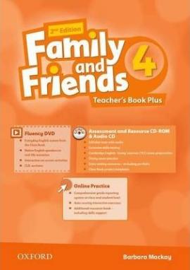 Family and Friends 2nd Edition 4: Teacher's Book Pack (книга вчителя) - фото книги
