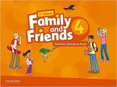 Family and Friends 2nd Edition 4: Teacher's Resource Pack (додаткові матеріали) - фото обкладинки книги