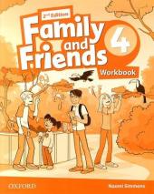 Family and Friends 2nd Edition 4: Workbook - фото обкладинки книги