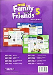 Family and Friends 2nd Edition 5. Posters (плакати) - фото обкладинки книги