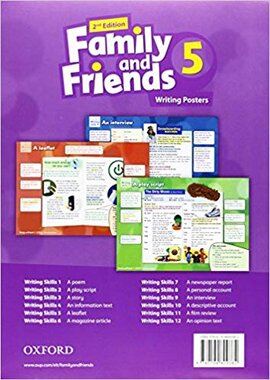 Family and Friends 2nd Edition 5. Posters (плакати) - фото книги