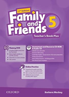 Family and Friends 2nd Edition 5: Teacher's Book Pack (книга вчителя) - фото книги
