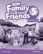 Family and Friends 2nd Edition 5: Workbook - фото обкладинки книги