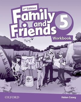 Family and Friends 2nd Edition 5: Workbook - фото книги