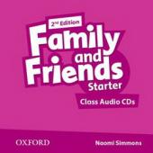 Family and Friends 2nd Edition Starter: Class Audio CDs (аудіодиск) - фото обкладинки книги